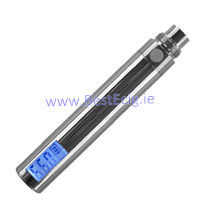eGo 650 mAh LCD Battery Chrome