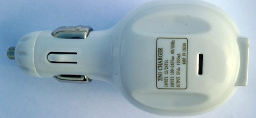 2 in 1 Car USB Charger