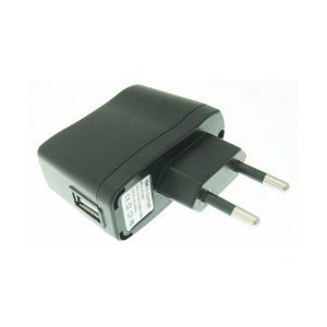 Euro 2 pin AC USB plug