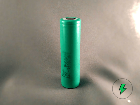 Samsung 25R Green 18650 Battery Cell