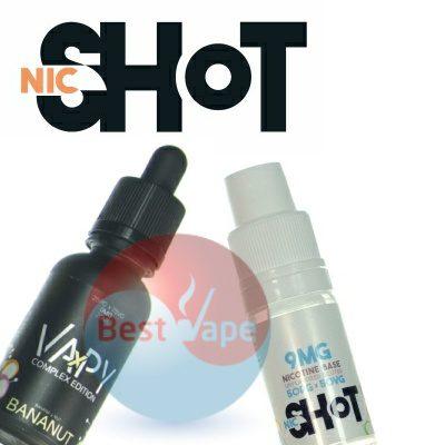 VAPY Bananut Nic Shot 9mg