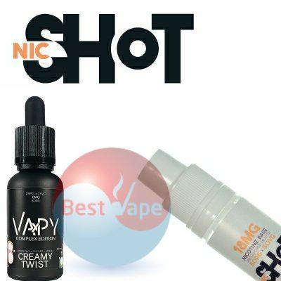 VAPY Creamy Twist Nic Shot 18mg