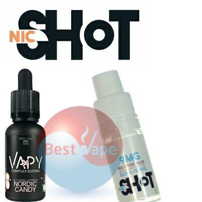 VAPY Nordic Candy Nic Shot 9mg