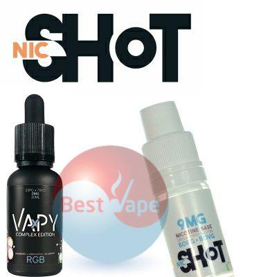 VAPY RGB Nic Shot 9mg