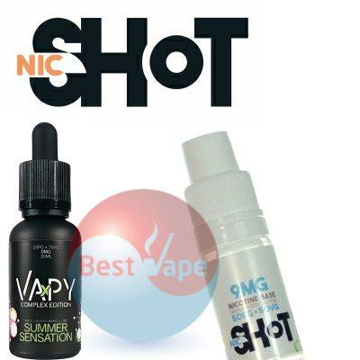 VAPY Summer Sensation Nic Shot 9mg