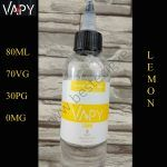 VAPY 80ml E-Liquid - Lemon