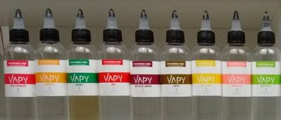 VAPY 80ml - All Flavours 2