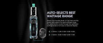 Adept Smart Wattage Range