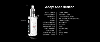 Adept Specifications
