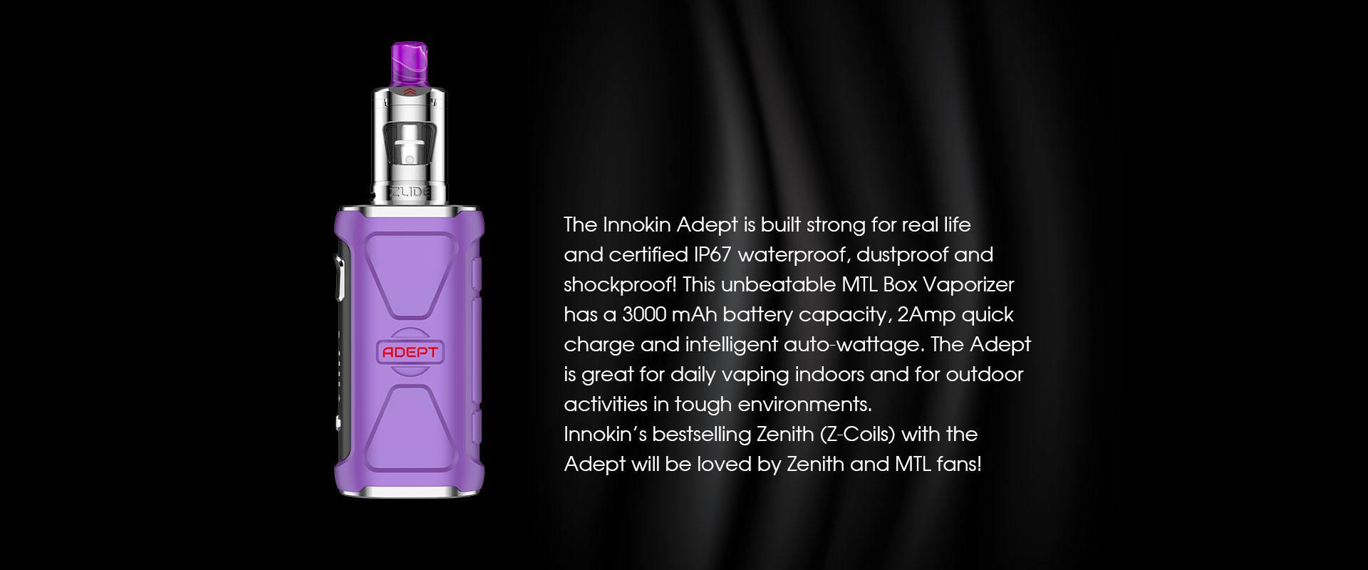 Adept Zlide Purple