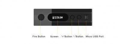 Aspire Zelos Mod - Buttons