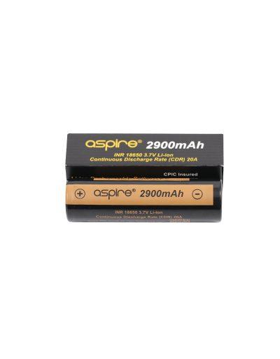 Genuine Aspire 18650 Battery 2900 mAh Cell
