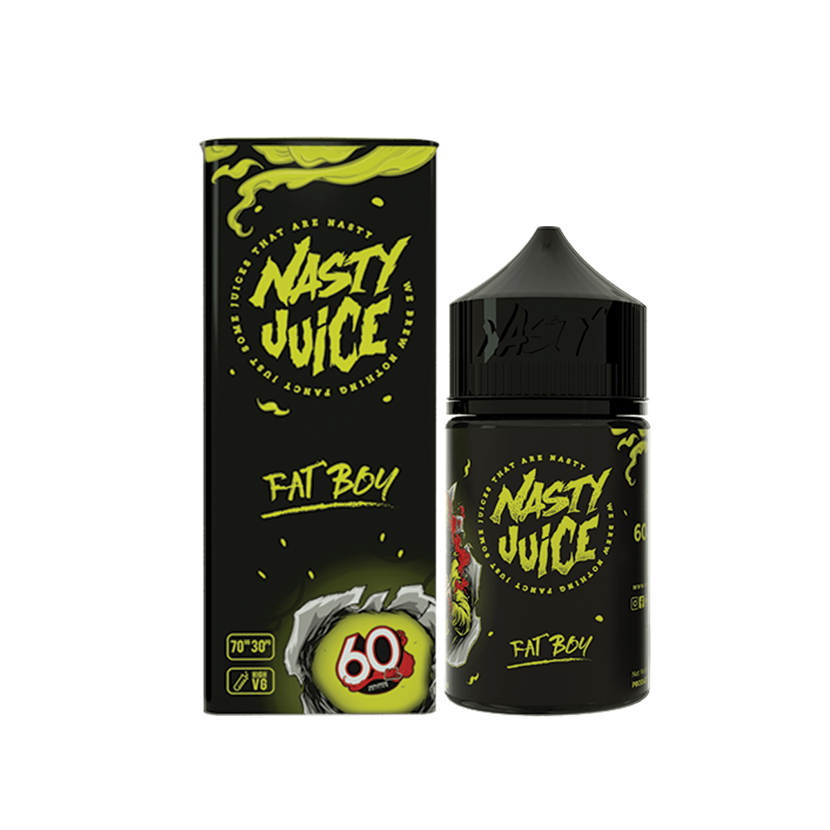 Nasty Juice E-Liquid - Fat Boy