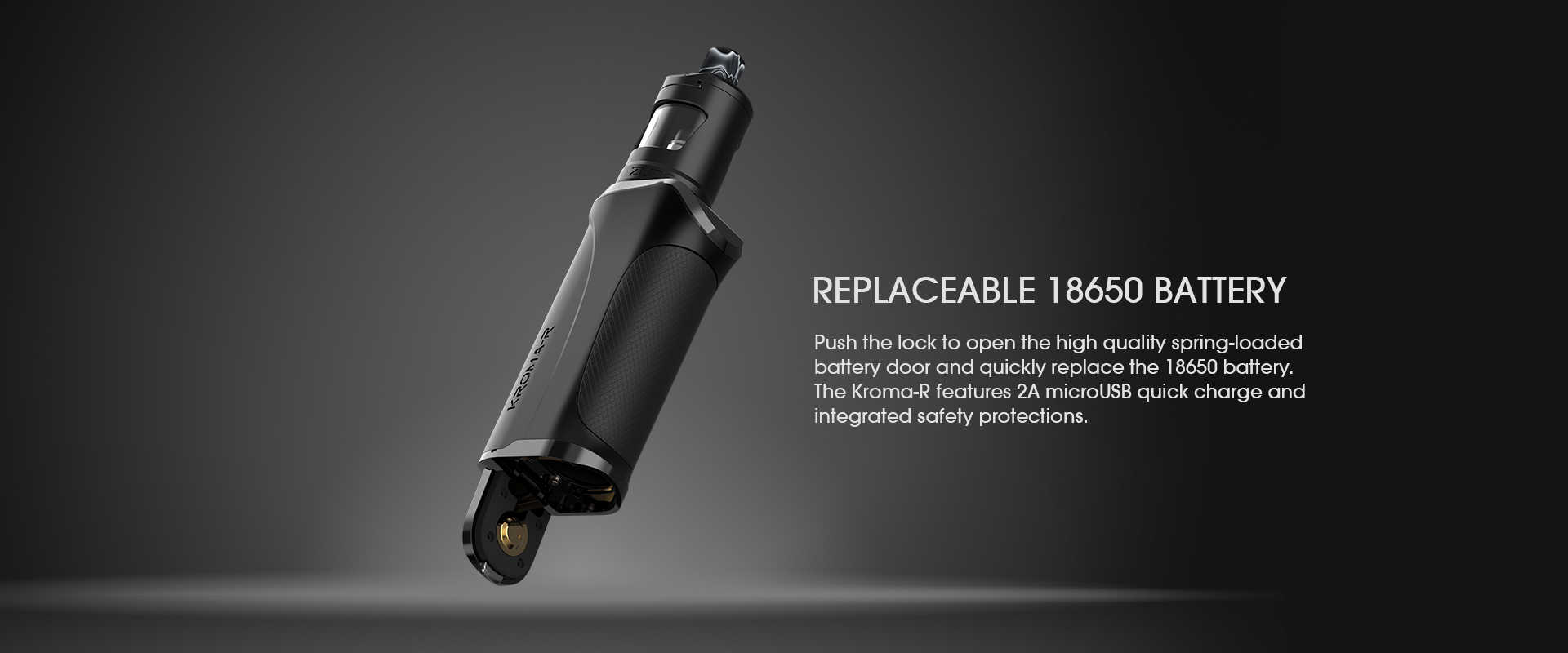kroma-r-replacable-battery