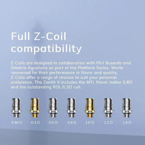 Innokin Coolfire Z80 Full Z coil Compatible